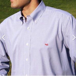 Southern Marsh Gingham Dress Shirt